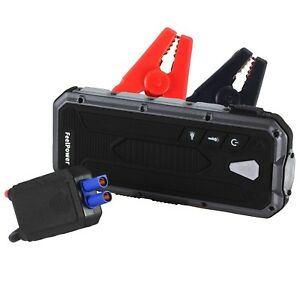 Car Jump Start Kit Emergency Charger Battery Engine Booster Power Bank Mini 400a