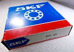New Skf 6310 Jem Open Deep Groove Single Row Ball Bearing 6310jem 6310 c3 6310c3