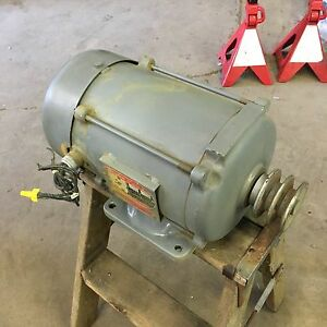 Dayton 1 5hp 208 220 480v 3 Phase Electric Motor Model 3n181 0