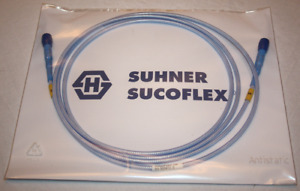 2 Metres Sucoflex 102 Dc To 40 Ghz Sk 2 92mm Rf Cable In Sealed Bag