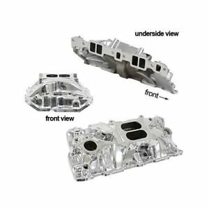 Edelbrock Performer Eps Intake Manold Chevy S283 327 350 Fits Stock Heads 27014