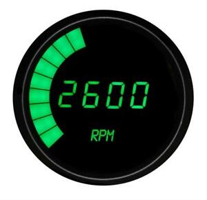 Summit Racing G2981g Tachometer Led 0 9900 Rpm 3 3 8 In Digital Electrical Each
