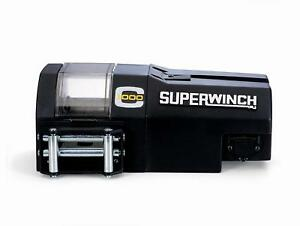 Superwinch C1000 Series Crane Winch 03002 1000 Lbs 1 4 x50 Line Roller Fairlead