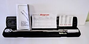 Snap On Torque Wrench 1 2 Inch Drive Qd3r250a 50 250 Ft Lb