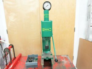Compac Dp 10 Dp10 Ten Ton Hydraulic C frame Bench Press Punch Stroke 180 M m