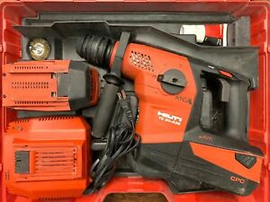Hilti Te 30 a36 Cordless Combihammer Used W Case 2 Batteries More