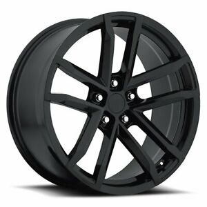 Factory Reproductions Fr 41 Camaro Zl1 Rim 18x8 5x4 75 Offset 19 Blk Qty Of 1