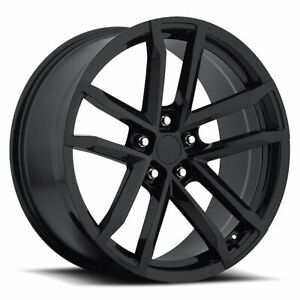 Factory Reproductions Fr 41 Camaro Zl1 Rim 20x11 5x4 75 Offset 43 Blk Qty Of 1