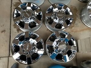 2011 2018 18 Gmc Sierra Chevy Silverado 2500 Hd Denali Oem Factory Wheels Rims