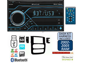 02 03 04 05 Dodge Ram Bluetooth Cd Usb Aux Mp3 Sd Stereo Radio