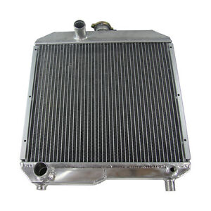 Tractor Aluminum Radiator Fit Ford Holland 1510 1710 Sba310100291 Sba310100440