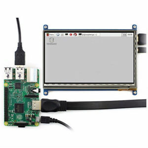 7 Inch Capacitive Touch Screen Lcd Display 1024x600 Hdmi For Raspberry Pi 2 3