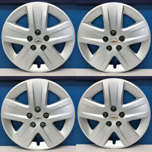 2010 2011 Chevrolet Impala 3288 17 Hubcaps Wheel Covers Gm 09596580 Set 4