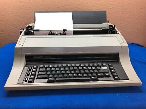 Swintec 7000 Wide Format Portable Electronic Typewriter Correctable Tested