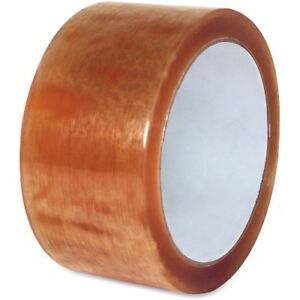 Sparco Products Nat Rubber Sealing Tape 2 3mil 2 x110 Yds 36 Rolls spr74962