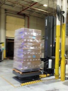 Lantech Q500 Pallet Stretch Wrapper Semi automatic