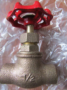 12 Plumbing Stop Valves With Drain Brass 1 2 Solder Ends