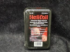New Helicoil 1 4 28 Professional Thread Repair Kit Stainless Part 5402 4 Nos