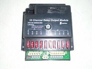 Intellitec 10 Channel Relay Output Module Latching 00 00838 000
