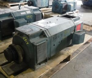 50 Hp Dc Reliance Electric Motor 1150 Rpm C2514atz Dpfv 500 V