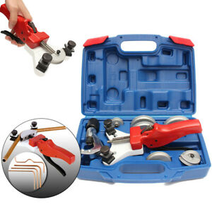 11pcs Multi Copper Pipe Bender Tube Bending Tool Kit With Tube Cutter Wk 666