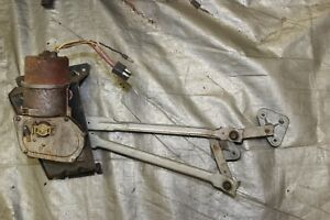 1966 Mustang 2 Speed Wiper With Bracket linkage