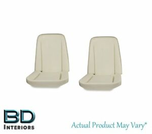 1966 1970 Chevy Chevelle Front Bucket Seat Molded Foam Pair