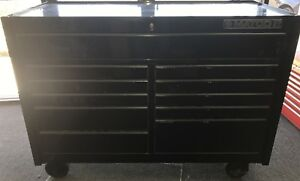 Matco Tool Box 4s 2bay 25 Rollaway Blk chm With Tools Included
