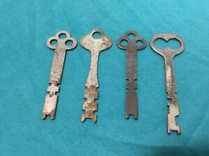 Yale Unknown Brand Double Cut Bit Keys Set Of 4 Locksmith