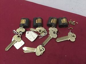 Corbin Russwin Removable Core Cylinders Set Of 4 Locksmith
