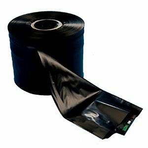 Laddawn Conductive Poly Tubing 4 Mil 10in X 750ft Black 1 Roll