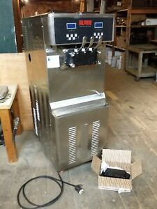 Alpine Freezer 360a Frozen Yogurt Soft Serve Ice Cream Machine