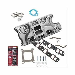 Summit Racing Sb Ford Weiand 8020wnd Intake Combo W Bolts Gaskets Sealant
