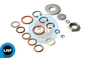 Mercedes Benz R121 190sl Ate T50 Brake Booster 17 piece Repair Kit Washers Nuts