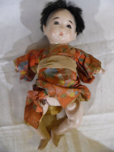 Antique Gofun Doll Crying Sound But Not Working
