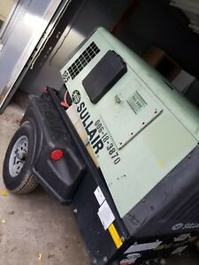 2012 Sullair 185cfm Air Compressor Great Condition Runs Great 1300 Hrs
