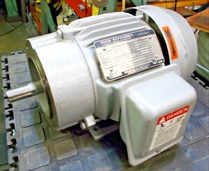 New Toshiba High Efficiency 3 phase Induction Motor Type Ir Form Fckl1 575 V
