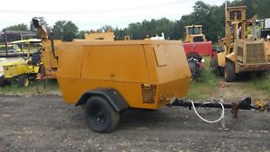 2005 Sullair 375 Cfm Air Compressor Caterpillar Turbo Diesel