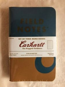 Field Notes Carhartt Brand New Sealed