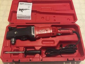 Milwaukee 1680 21 Super Hawg Electric 1 2 Right Angle Drill