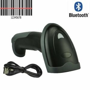 2x Wireless Bluetooth Laser Barcode Scanner Automatic Wifi Bar Code Scan Reader