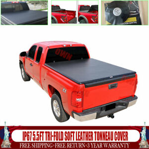 For 2009 10 11 17 18 Dodge Ram 1500 2500 3500 6 5 Bed Tri fold Us Tonneau Cover
