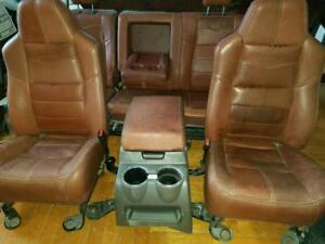 2008 2010 F250 F350 Super Duty King Ranch Front rear Seats And Center Console
