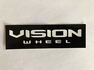 Vision Wheel Decal Sticker Drag Offroad Nascar Racing Man Cave Rotrod