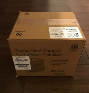 Devilbiss Pulmo aide Compact Compressor Nebulizer System 3655d brand New