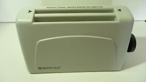 Martin Yale P6400 3 sheet Dual Fold Letter Folder Tested With Power Adapter Used