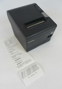 Epson M244a Tm t88v Parallel Usb Thermal Pos Receipt Printer Tested Working