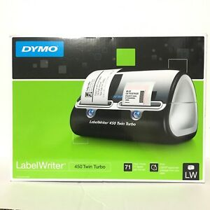 Dymo Labelwriter 450 Twin Turbo Label Thermal Printer Brand New