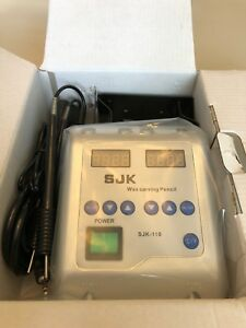 New Sjk Dental Lab Electric Wax Knife Waxer Carving Pen Pencil Carver W 6 Tips