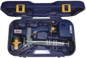 12 V Lincoln Cordless Power Luber Grease Gun 1244 W 2 Nicad Batteries